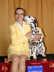 Dalmatian - Apollo Kisses May 2012
