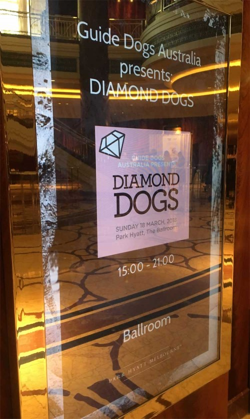 Guide Dogs Of Victoria – Diamond Dogs Fashion Parade – Park Hyatt Melbourne